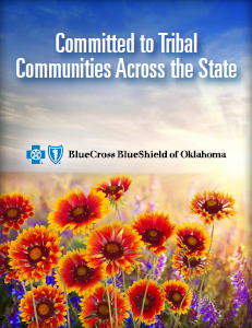 Cover of the Committed to Tribal Communities Across the State brochure