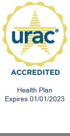 URAC Accredited Health Plan