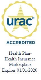 URAC - Accredited Health Plan with Health Insurance Marketplace